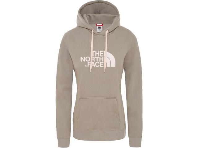 The North Face Drew Peak Pullover Hoodie Damen silt grey